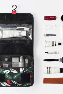 邮多多淘宝集运转运网红化妆包韩国多功能防水旅行出差便携大容量洗漱包品袋收纳包