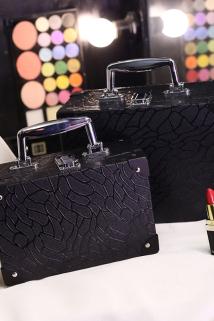 邮多多淘宝集运转运化妆包韩国专业 大容量化妆箱便携手提小号旅行包收纳包洗漱包