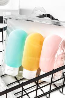 邮多多淘宝集运转运洗漱包分装瓶旅行常备出差套装化妆包ins风女防水便携收纳包分装