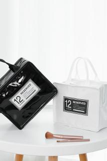 邮多多淘宝集运转运化妆包女大号便携韩国简约大容量手提洗漱品收纳袋ins网红化妆袋