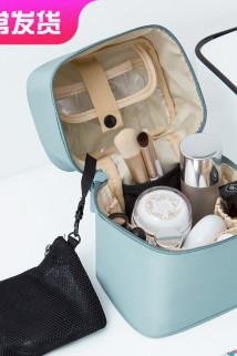 邮多多淘宝集运转运便携化妆包品多功能ins网红小号韩国简约大容量随身收纳袋盒少女