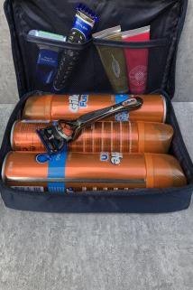 邮多多淘宝集运转运男士出差多功能手提防水化妆包便携牛津布旅行收纳包男士洗漱包