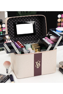 邮多多淘宝集运转运化妆包精致时尚高档大容量多功能女手提收纳盒品大容量箱多层家用