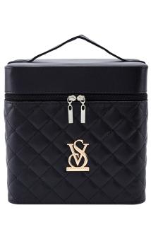 邮多多淘宝集运转运大容量韩国化妆包可爱大号方品中袋随身便携手提收纳盒简约化妆箱