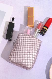 邮多多淘宝集运转运韩国便携简约可爱软妹化妆包迷你小号ins网红超火随身香烟口红包