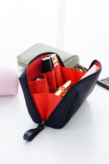 邮多多淘宝集运转运随身女化妆包迷你便携小号多功能口红包简约防水护肤品收纳袋包包