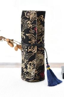 邮多多淘宝集运转运手拿化妆刷包空皮套专业化妆师收纳空包 超大容量跟妆日常包邮