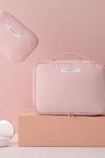 邮多多淘宝集运转运化妆包新款ins风网红女超火2019新款便携旅行大容量洗漱品收纳袋