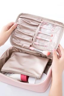 邮多多淘宝集运转运化妆包女便携旅行ins风超火网红护肤品收纳大容量防水出差洗漱包