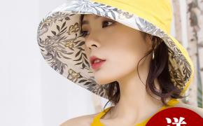 淘宝集运转运到西班牙帽子女遮阳帽渔夫帽日系太阳帽女士防晒紫外线大沿韩版百搭出游款