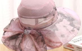 淘宝集运转运到西班牙中年妈妈遮阳帽春夏防晒透气薄款凉帽老年女式盆帽渔夫帽太阳帽子