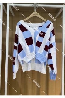 邮多多淘宝集运转运Basic House/百家好正品2021春装新款百搭女式针织衫HVKT121B-798