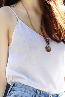 邮多多淘宝集运转运2021韩版内搭白色吊带背心女短款夏装显瘦宽松大码纯棉打底衫上衣