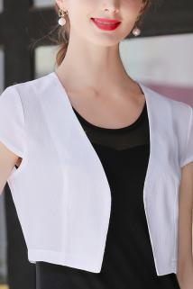 邮多多淘宝集运转运2021新款防晒衫夏季短款雪纺小衫薄小披肩配裙子外搭开衫外披上衣